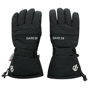 Men's Hold On II Waterproof Insulated Ski Gloves Black