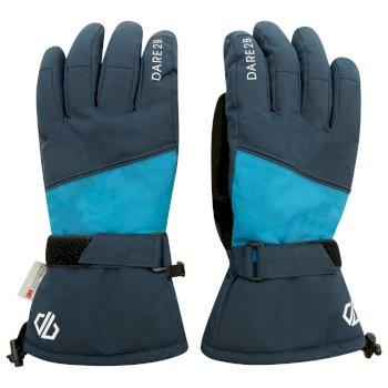 Men's Diversity Waterproof Ski Gloves Nightfall Navy Dark Methyl