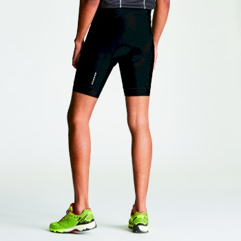 Short Vélo Sidespin Gel Shrt Black/Black