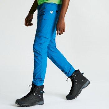 Men's Tuned In II Multi Pocket Zip Off Walking Trousers Petrol Blue