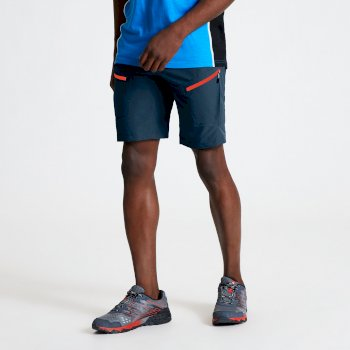 Men's Tuned In II Multi Pocket Walking Shorts Majolica Blue