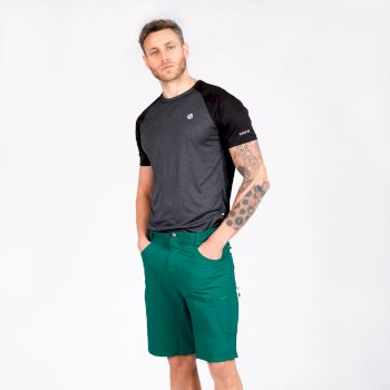 Men's Tuned In II Multi Pocket Walking Shorts Ultramarine Green
