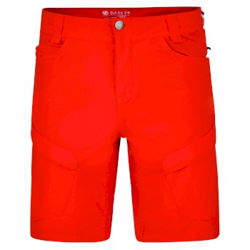 Men's Tuned In II Multi Pocket Walking Shorts Fiery Red