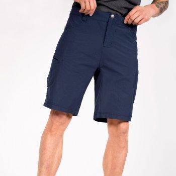 Men's Tuned In II Multi Pocket Walking Shorts Dark Denim