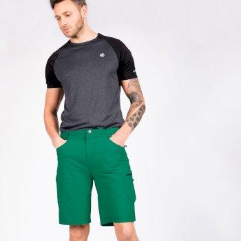 Men's Tuned In II Multi Pocket Walking Shorts Jelly Bean Green