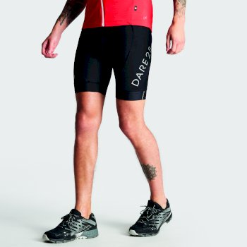 Men's Ecliptic Cycle Shorts with Gel Insert Black