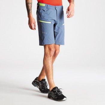 """Short """"baggy"""" technique extensible Homme RENEW avec poches multiples Meteor Grey"""