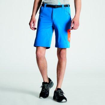 Men's Disport Lightweight Multi Pocket Shorts Petrol Blue