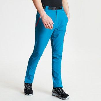 Men's Disport Lightweight Multi Pocket Walking Trousers Ocean Depths