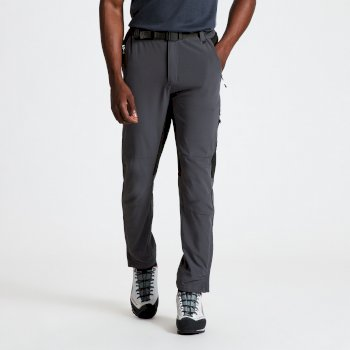 Men's Disport II Walking Trousers Ebony Grey Black