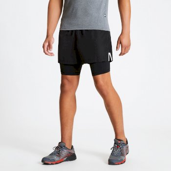 The Jenson Button Edit - Recreate Quick Drying Gym Shorts Black
