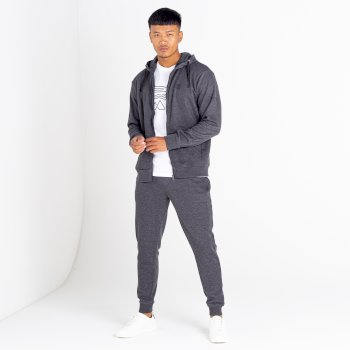 The Jenson Button Edit - Modulus Jogging Bottoms Charcoal Grey Marl