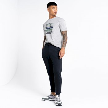The Jenson Button Edit - Modulus Jogging Bottoms Black
