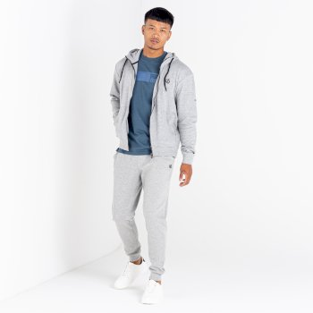 The Jenson Button Edit - Modulus Jogging Bottoms Ash Grey Marl