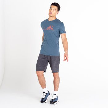 Men's Continual Drawstring Shorts Charcoal Grey
