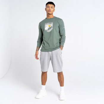 The Jenson Button Edit - Continual Drawstring Shorts Ash Grey Marl
