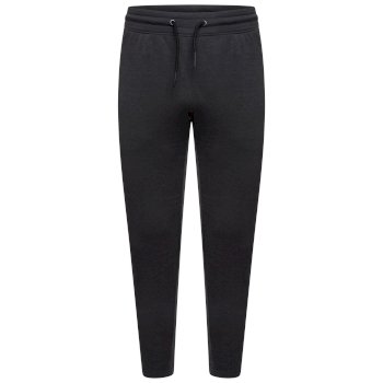 Men's Laze Jogging Bottoms Charcoal Grey Marl