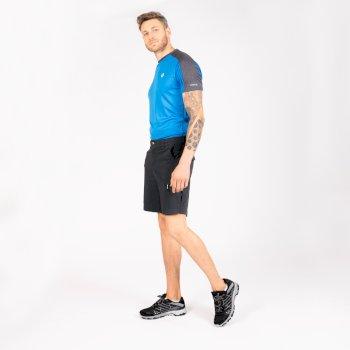 Men's Tuned In Offbeat Cargo Shorts Ebony Grey