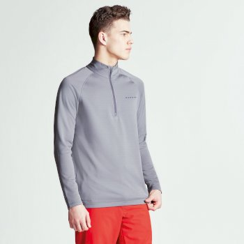 Men's Fuseline III Core Stretch Midlayer Smokey Grey