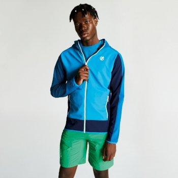 Men's Appertain II Lightweight Softshell Jacket Atlantic Blue Petrol Blue
