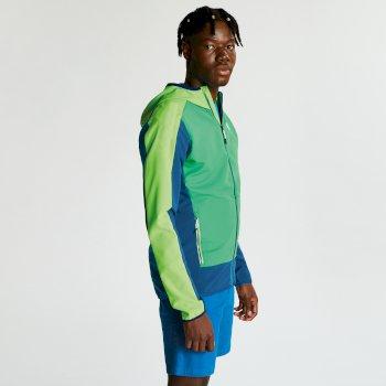 Veste Softshell technique et légère Homme APPERTAIN II Jasmine Trek Green