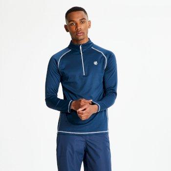 Men's Fuse Up Half Zip Core Stretch Midlayer Admiral Blue
