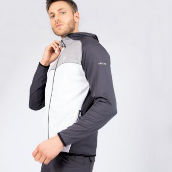 Veste stretch Homme extensible avec capuche RATIFIED II Blanc
