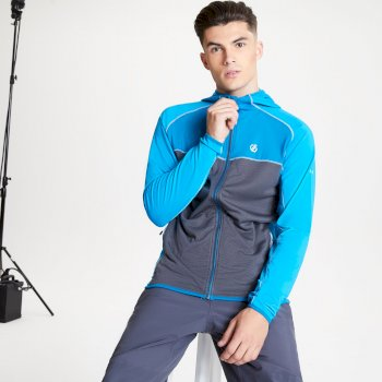 Veste stretch Homme extensible avec capuche RATIFIED II Bleu