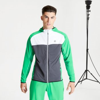 Veste stretch Homme extensible avec capuche RATIFIED II Vert