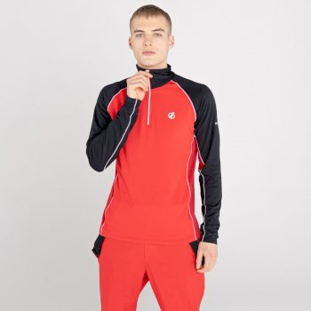 Men's Interfused II Lightweight Core Stretch Midlayer Chinese Red Black Chillie Pepper Red