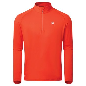 Men's Fuse Up II Half Zip Lightweight Core Stretch Midlayer Trail Blaze