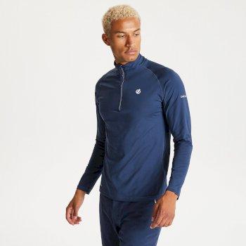 Men's Fuse Up II Half Zip Lightweight Core Stretch Midlayer Nightfall Navy
