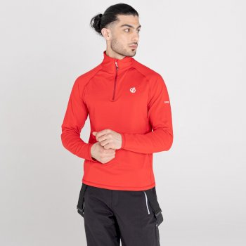 Men's Fuse Up II Recycled Lightweight Core Stretch Midlayer Chinese Red