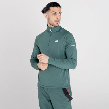 Men's Fuse Up II Recycled Lightweight Core Stretch Midlayer Fern Green