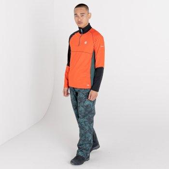 Couche intermédiaire core stretch légère Homme DIGNIFY Orange