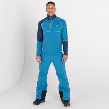 Couche intermédiaire core stretch légère Homme DIGNIFY Bleu