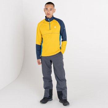 Men's Dignify Lightweight Core Stretch Midlayer Glowlight Nightfall Navy Dark Methyl Blue