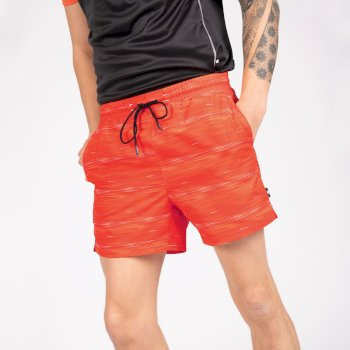 The Jenson Button Edit - Retread Lightweight Shorts Trail Blaze Red