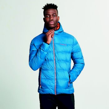 Men's Downtime Down Fill Jacket Kingfisher Blue