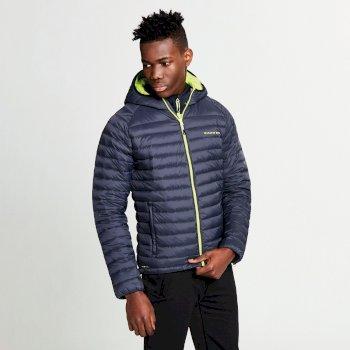 Men's Phasedown Down Fill Insulated Jacket Ebony Grey