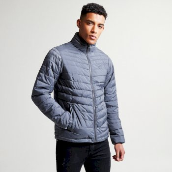 Men's Addle Insulated Jacket Charcoal Grey Marl