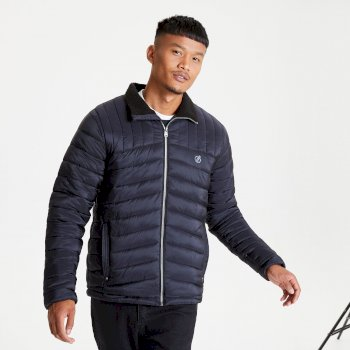 The Jenson Button Edit - Diversion Quilted Insulated Jacket Black