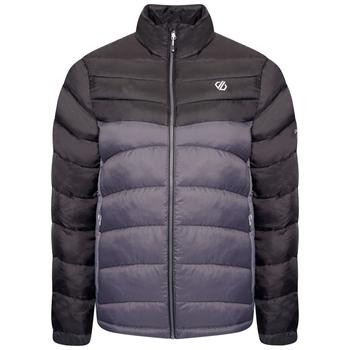 Men's Precipice Insulated Jacket Black Ebony Grey