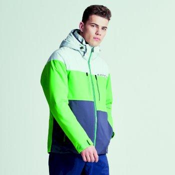 Men's Roamer Pro Ski Jacket Cyberspace Grey Marl Ebony Grey