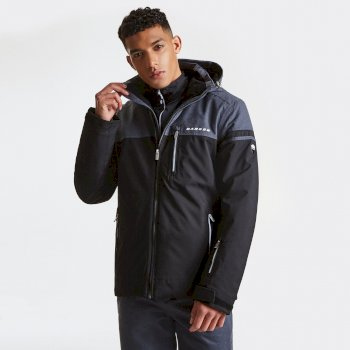 Veste imperméable chaude Graded Jacket Black/Ebony
