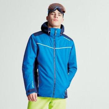 Men's Vigour Ski Jacket Nautical Blue Outerspace Blue