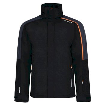 Veste imperméable chaude Aligned Jacket Black/Ebony