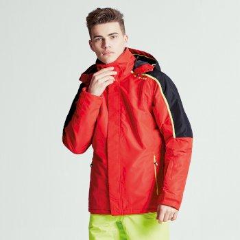 Veste imperméable chaude Aligned Jacket CodeRed/BlK