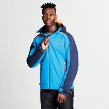 Men's Educe Ski Jacket Methyl Blue Outerspace Blue