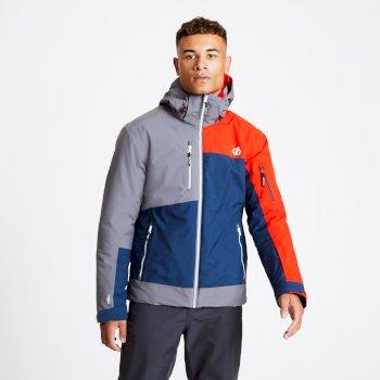 Veste de ski technique Homme TRAVAIL Bleu